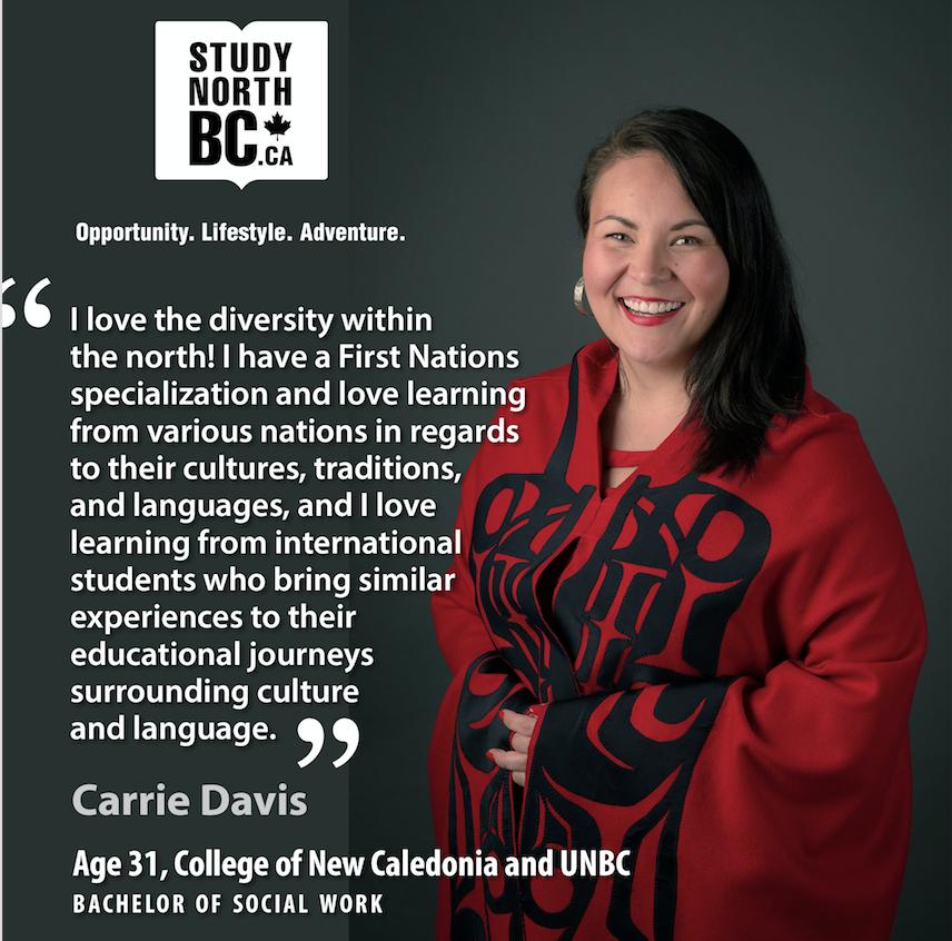 Study North BC student