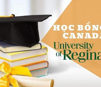 Đại học Regina trao học bổng lên đến $3000 CAD dành cho sinh viên quốc tế