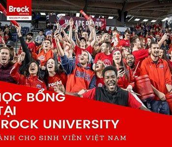 Học bổng Đại học Brock dành cho Du học sinh Việt Nam