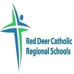Red deer catholic logo