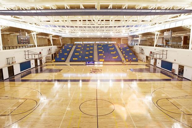 centre for sport and wellness gym interior shined