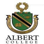 Full colour crest black AC portrait Albert College e1536743247154