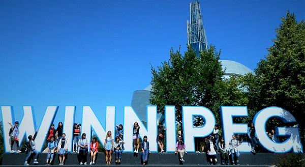 2. Winnipeg Sign