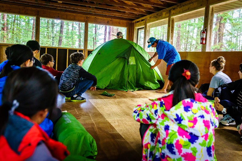 Learning to Build a Tent