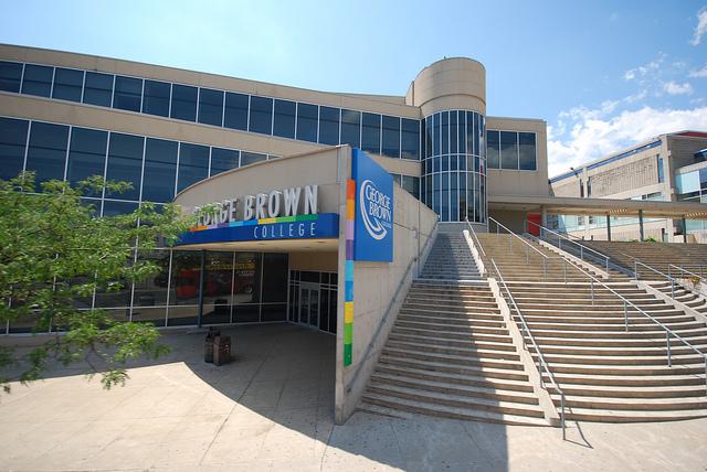george brown campus