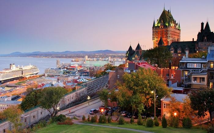 Quebec City Canada Wallpaper