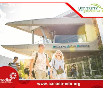 Học bổng lên đến $10,000 tại Đại học hàng đầu Canada – University of Fraser Valley dành cho sinh viên quốc tế