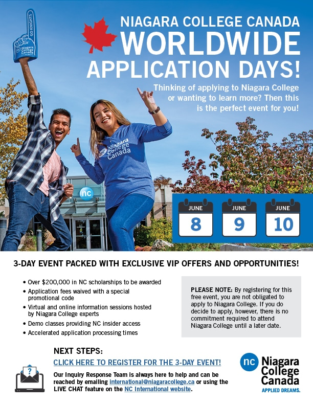 application days poster