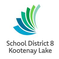school district 8 kootenay lake logo