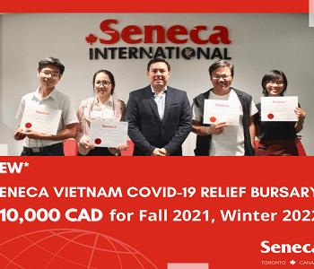 Hỗ trợ tài chính Covid-19lên đến $10,000 CAD tại Seneca College
